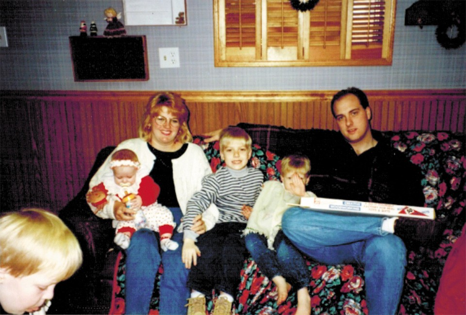 Young Cort, center, with parents Cathy and Charles VanOstran and siblings Callie, left, and Collin, right. - COURTESY OF CORT VANOSTRAN