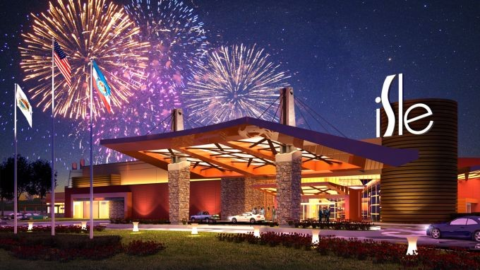 Despite today's news, the rendering of the Cape Girardeau casino has always included fireworks.