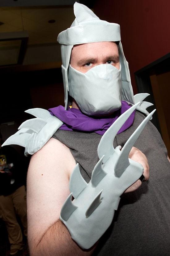 The Shredder from Teenage Mutant Ninja Turtles.
