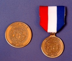 Medal for World War II vets.