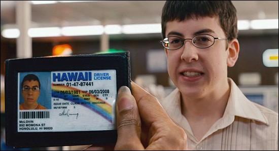It's me, McLovin. Can I vote now, please?