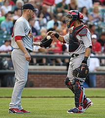 """""""Hey, Yadi! How'd you chose your walk-up song?"""" - KEITH ALLISON ON FLICKR"""