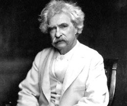 Mark Twain insulted everybody. He was incredible. - IMAGE VIA