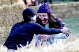 Click the video below to see what it felt like to outrun zombies - IMAGE VIA