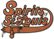 THE SPIRTS OF ST. LOUIS LOGO.