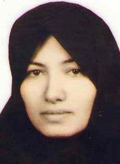 Sakineh Mohammadi Ashtiani - IMAGE VIA