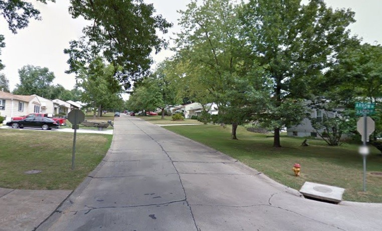 Suburban street where the abduction attempt allegedly took place. - VIA GOOGLE MAPS