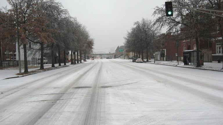 Russel Boulevard, looking north on South Jefferson Avenue - PHOTO BY NICHOLAS PHILLIPS