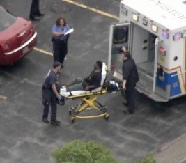 Worker hospitalized this morning. - VIA KMOV.COM