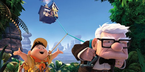 """""""Up presents the most heartfelt--the most sincere--love story in recent memory,"""" writes Robert Wilonsky."""