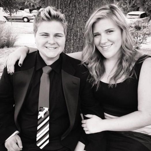 Shane Stinson and his girlfriend Danielle Pevehouse - COURTESY OF SHANE STINSON