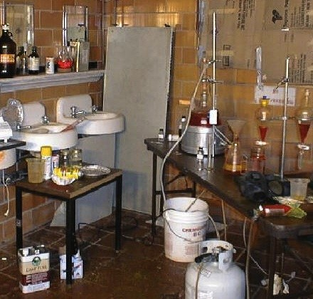 Meth lab. - DENR.SD.GOV