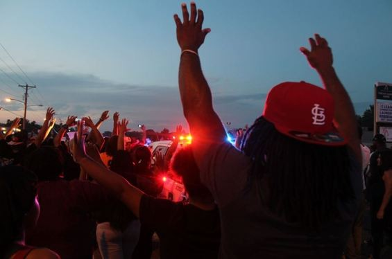 One common complaint among Ferguson protesters: unfair municipal fines. - RAY DOWNS