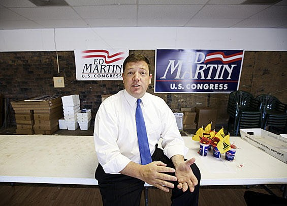 Ed Martin, 2010 Congressional candidate can't recall what he told us - PHOTO BY JENNIFER SILVERBERG