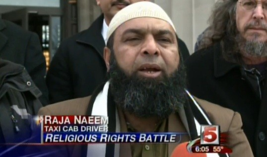 Raja Naeem speaking at a press conference last year. - VIA KSDK VIDEO.
