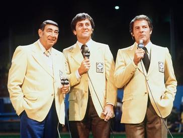 Ah, the only Monday Night Football crew worth caring about. Quite a long fall from here to the current crew.
