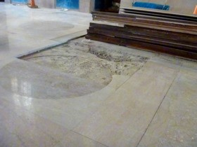 The marble floor near the old information desk had nearly been worn through by a century of library patrons. - AIMEE LEVITT