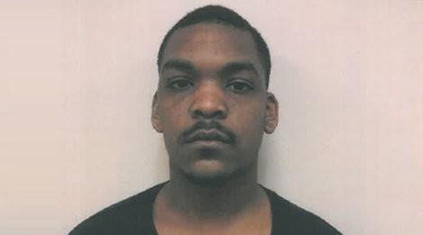 Marlon Miller's mug shot after he was charged.