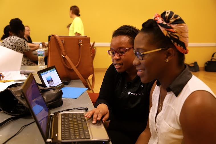 CoderGirl gives women a weekly space to learn coding and computer skills that can lead to future jobs. - COURTESY OF LAUNCHCODE