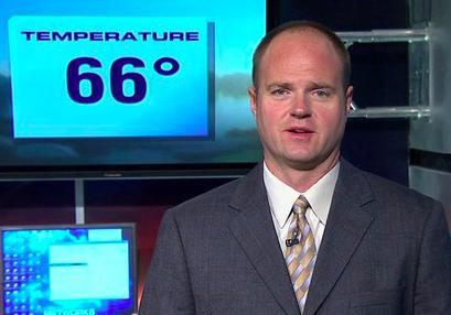 Chris Higgins, meteorologist. - VIA FACEBOOK