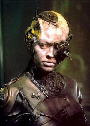 It's a Borg, it's a plane!