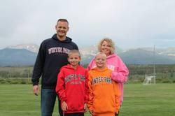 The adorable Rizner family - FACEBOOK