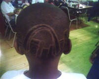 Impress the ladies: Add a skyline to your hairline.