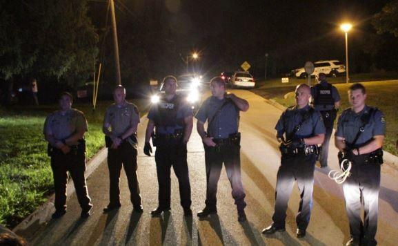 The scene immediately following the shooting last night. - DANNY WICENTOWSKI