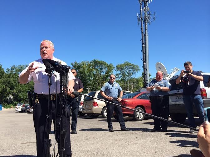 Ferguson Police Chief Tom Jackson. - LINDSAY TOLER