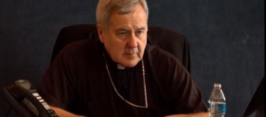 Archbishop Carlson says he didn't mean it like that.