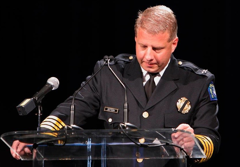 Police Chief Sam Dotson. - VIA FACEBOOK