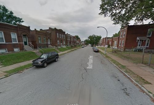 3200 block of Mount Pleasant Street, where two men were shot and killed Sunday. - GOOGLE MAPS