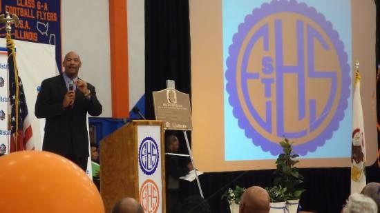 NFL great Kellen Winslow was honored at in his hometown, East St. Louis. - ALBERT SAMAHA