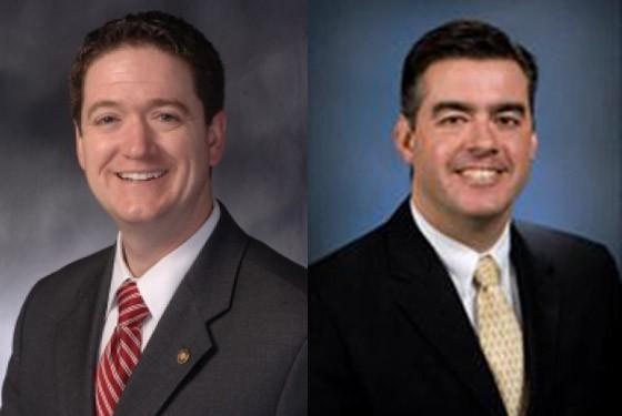 House Speaker Tim Jones (L) and Senate President Pro Tem Tom Dempsey.