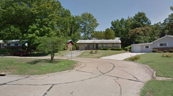 Block in Jennings where the stabbing allegedly took place. - GOOGLE MAPS