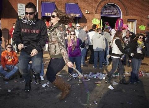 Dancin' in the streets: Soulard Mardi Gras 2012