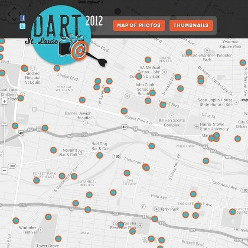 Screengrab of www.2012.dartstlouis.com