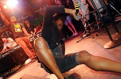 Spank Rock at Siren Festival