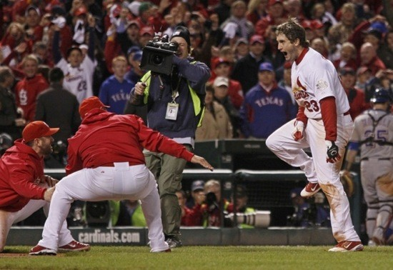 World Series 2014, here we come. - GETTY IMAGES VIA