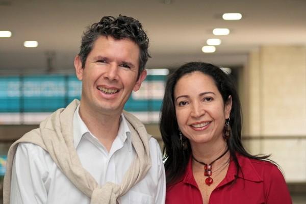 Andres Benavides and Claudia Isabel Barona. - LIFEPACK