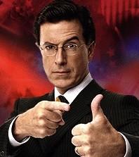 Stephen Colbert. - VIA