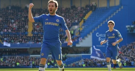 Chelsea midfielder and Spanish national team player Juan Mata is having a break-out season for Chelsea since coming over last season. - SOURCE