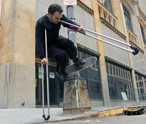 """Crutch Master"" Bill Shannon"
