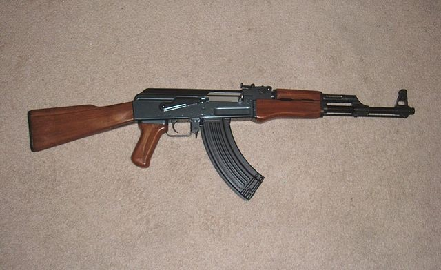 File photo, AK-47. - VIA