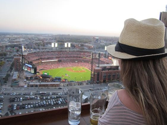 The view from Three Sixty last night was mighty nice. - PHOTOS: CHAD GARRISON