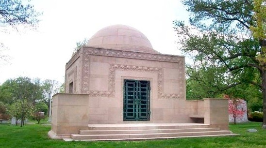 The Wainwright Tomb as designed by architect Louis Sullivan. - CHRIS NAFFZIGER