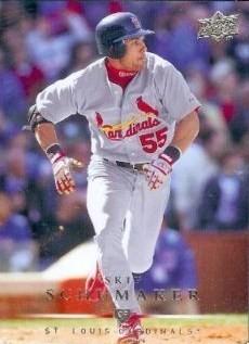 Baseball Card Of The Week Skip 2b Schumaker News Blog