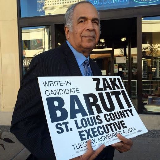 Zaki Baruti, write in candidate for St. Louis county executive. - LINDSAY TOLER