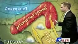 We love naughty weather maps. - VIA