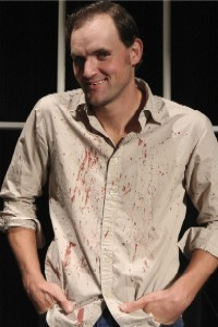 Broken, bloody and a murderer -- what's not to love? - PHOTO: JILL RITTER